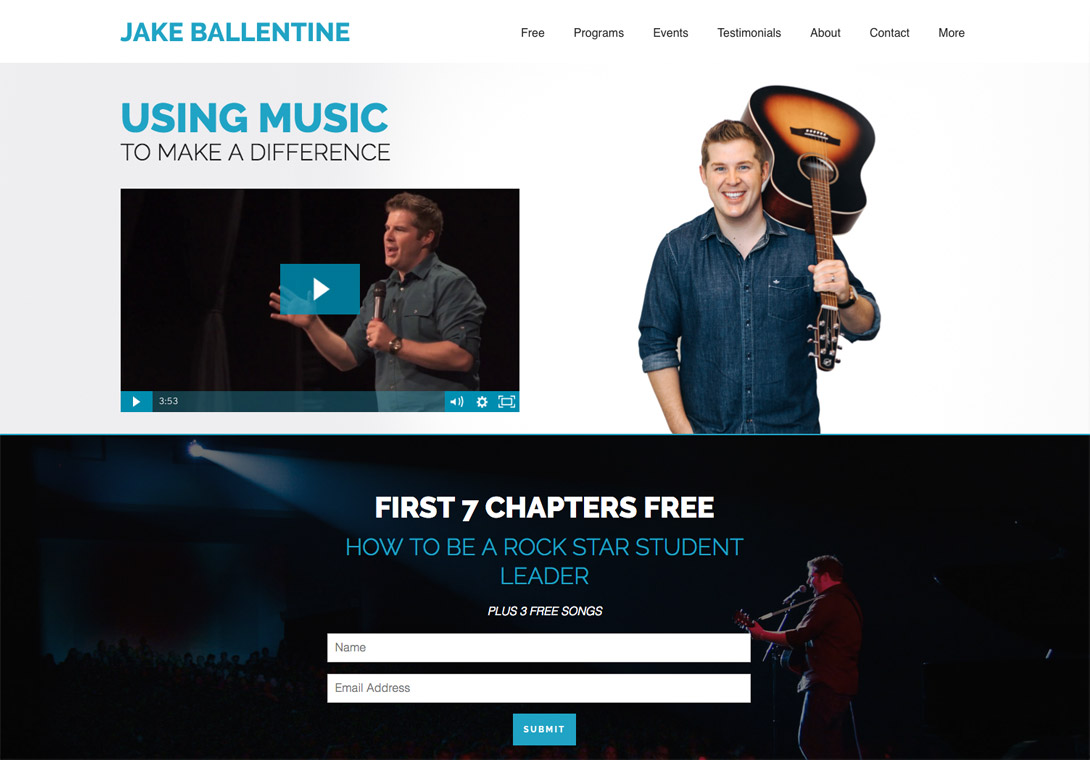 Jake Ballentine Brilliant Site